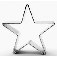 """Вырубка для печенья, пряников, мастики """"Звезда"""" (5.5 см)"""