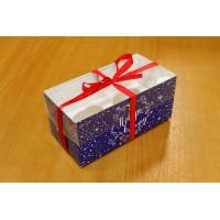 """Коробка для капкейков №18 """"Новогодняя серия"""" на 2 шт."""