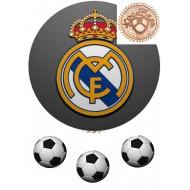 """Вафельная картинка """"ФК Реал Мадрид"""""""