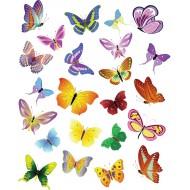 "Вафельная картинка ""Бабочки №1"""
