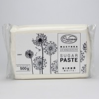 Сахарная мастика Белая Криамо 500 гр.