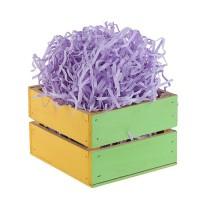 Бумажная стружка (наполнитель бумажный) 20 гр. фиолетовая
