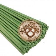 Стебли для цветов, зеленые, 5мм*75см