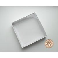 Коробка для пряников (печенья) с прозрачной крышкой / Коробка подарочная