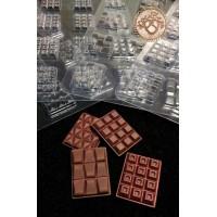 Форма для мини-шоколадок полипропиленовая