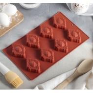 "Форма для шоколада, льда ""Драгоценный камень"""