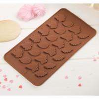 """Форма для шоколада, льда, мастики """"Листики"""""""