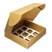 Коробка на 9 капкейков