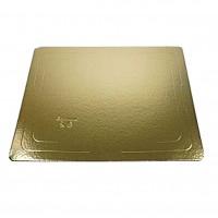 Поднос золото/белый 30*30 см