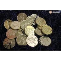 """Монетки шоколадные """"Черепа"""""""