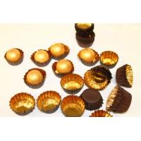 Фольгированная золотая форма для конфет
