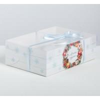 Коробка №22 на 6 капкейков / Коробка подарочная