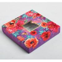 Коробка для конфет с ячейками /  Коробка подарочная