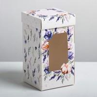 Коробка под 1 капкейк / Коробка подарочная