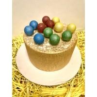 ШОКОЛАДНЫЕ ВЕЛЮРОВЫЕ ШАРЫ из бельгийского шоколада разноцветные 3 СМ