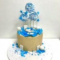 """Набор на торт """"День Рождения мальчика"""" №1"""
