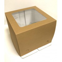 Коробка для торта с окном / Коробка подарочная