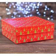 Коробка на 9 капкейков / Коробка для подарков №62