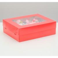 Коробка на 12 капкейков / Коробка подарочная №3