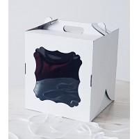 "Коробка ""Чемодан"" для торта 26*26*30 см"