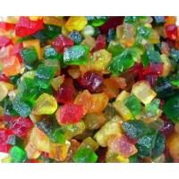 Мини-цукаты фруктовые микс для выпечки термостабильные 100 гр