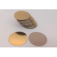 Подложка односторонняя 16 см золото