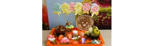 Муляжные торты,сладости и декор