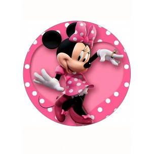 вафельное фото на торт минни маус бухгалтера
