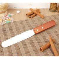 Лопатка-палетка №1 с деревянной ручкой
