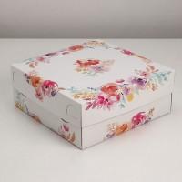 Коробка на 9 капкейков / Коробка подарочная 2
