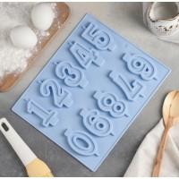 """Форма силиконовая для шоколада, карамели,льда """"Цифры"""" №3"""