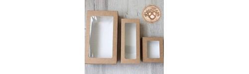 Коробки крафтовые для подарков /кондитерских изделий