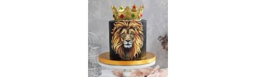 Барельефные картинки на торт
