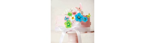 Сладкий конус, сладкий декор для украшения десертов на заказ